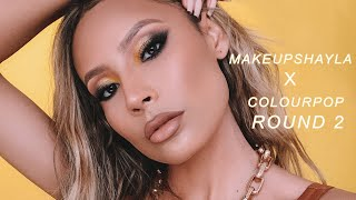 I USED THE MAKEUPSHAYLAXCOLOURPOP COLLECTION AND…