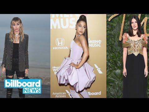 Miley Cyrus, Ariana Grande & Lana Del Rey to Drop Epic 'Charlie's Angels' Song | Billboard News mp3