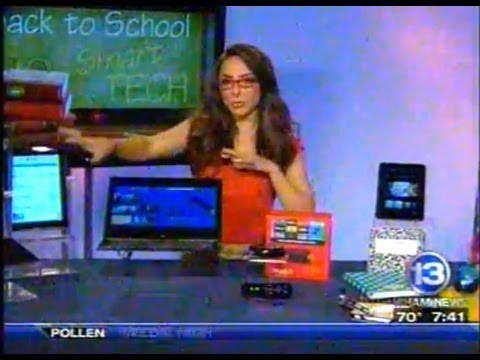 RIT on TV: Alum Katie Linendoll Talks Back to School Tech