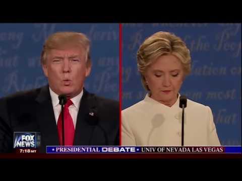 Presidential Debate   Clinton Roe V Wade