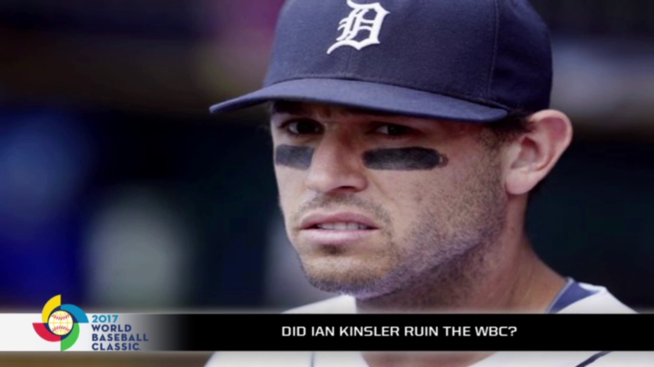 Ian Kinslers Comments Almost Ruined The Wbc Youtube