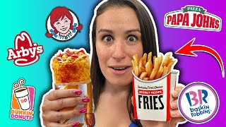 Ordering 10,000 Calories of VIRAL FOOD ~ EPIC Cheat Day