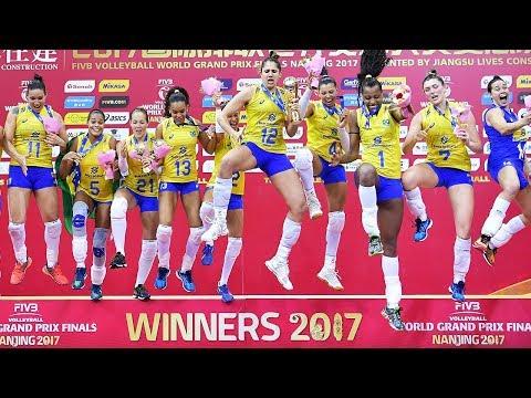 Gold match Italy v Brazil BEST Highlights | 2017 FIVB Volleyball World Grand Prix