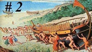 Les Galères de ... Corinthe #2 sur Rome Total War