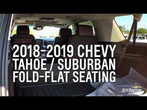 2018-2019 Chevy Tahoe & Suburban Fold Flat Seating Demo ...