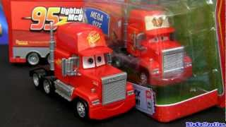 Mack Truck Hauler Car Wash Playset CARS 2 with Lightning McQueen Diecast Disney Pixar toys review