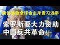 政论:颜色革命全球金主斥责习近平、索罗斯要大力资助中国反共革命!