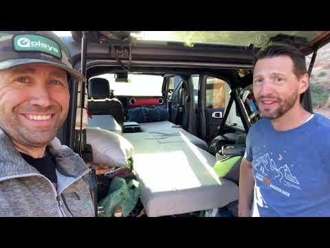 $40 Jeep JL Wrangler Overlanding Bed