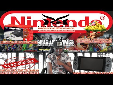 SharJahNews|  Dockless Nintendo Switch|N64 Mini coming?| Various Marvelous Switch Games Coming|+MORE