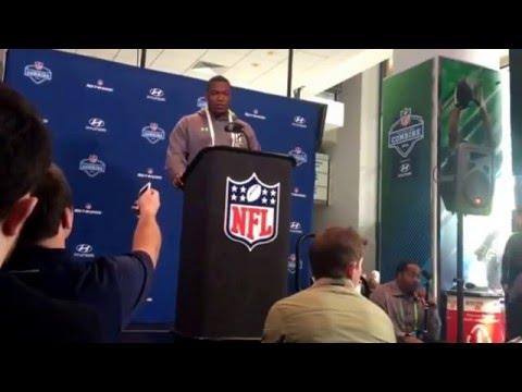 NFL Combine Update Kenny Clark UCLA Defensive Line #NFLCombine