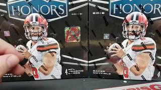 2018 Honors Football box war...FOTL vs Hobby!