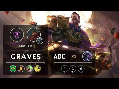 Graves ADC vs Kai'Sa - BR Master Patch 9.24