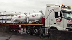 C&F Green Energy Turbines on the Road