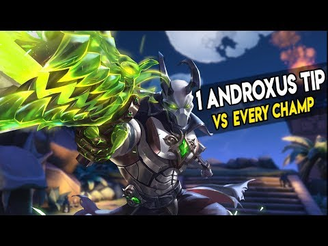 1 ANDROXUS TIP VS EVERY CHAMP