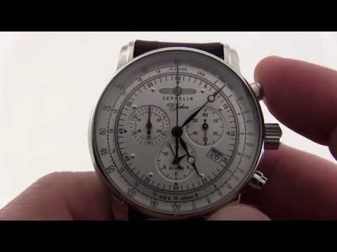 Graf Zeppelin 7680-1 Alarm Chronograph