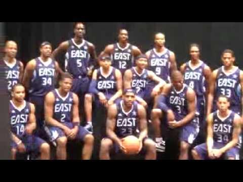 2009 NBA Eastern All-Stars Photo Session