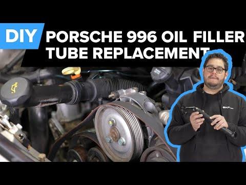 Porsche 996 911 Oil Filler Tube Replacement DIY (Porsche 996 Carrera)