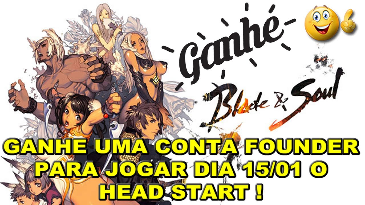 blade and soul founders pack giveaway blade and soul sorteio de uma conta iniciate pack 8326