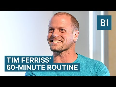 Tim Ferriss Explains How He Starts Every Day With A 60-Minute Routine