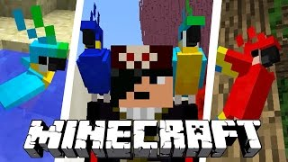 FINALMENTE! NOVO ANIMAL (PAPAGAIO) E MAIS! | Minecraft Atualização (1.12)