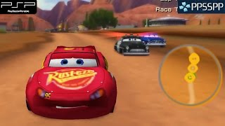 Cars - PSP Gameplay 1080p (PPSSPP)
