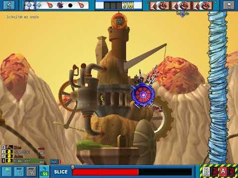 GunBound Origins - Unedited 2 Vs 2 Staff Battle