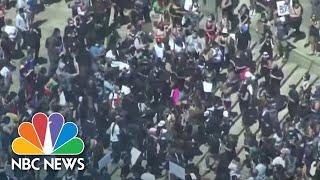 National Guard Patrols Philadelphia Amid George Floyd Protests | NBC News NOW