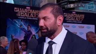 Dave Bautista Talks Drax at Marvel