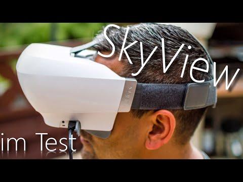 Yuneec SkyView FPV- Brille, auch für DJI Phantom - im Test - Deutsch