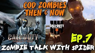 Call of Duty Zombies: Then and Now - From World at War to Black Ops 4!