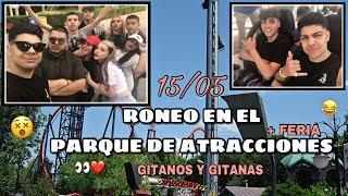 RONEO EN EL PARQUE DE ATRACCIONES DE MADRID 🎢 | AARON ESCUDERO
