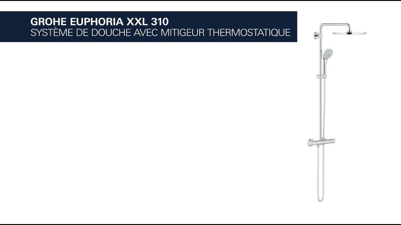 Grohe Colonne De Douche Euphoria System.Euphoria Xxl 310 Systeme De Douche Thermostatique Grohe