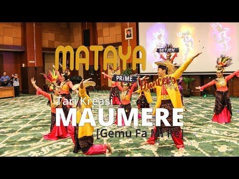 [JUARA 1] TARI KREASI MAUMERE (Gemu Fa Mi Re) - Mataya Dancers (#SMB2017)