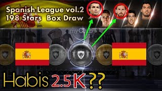 "Open Pack  ""Spanish League Vol.2 198 Stars Box Draw"" 