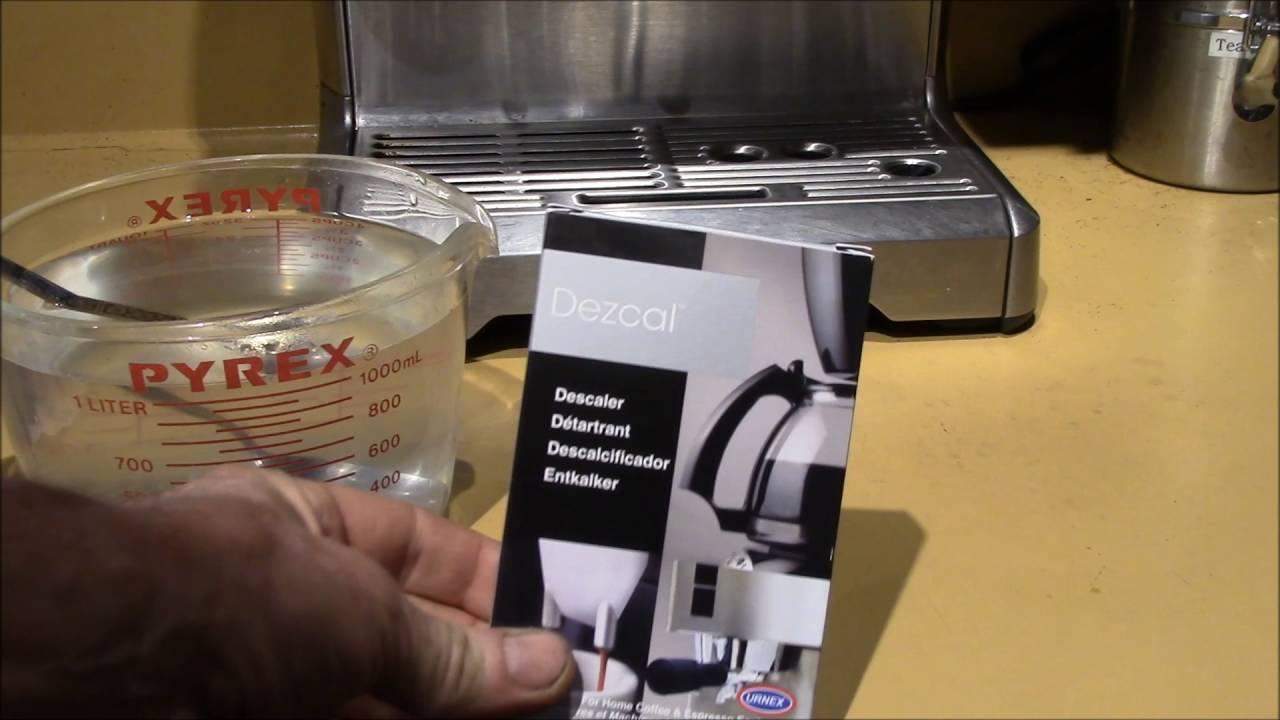 Phone Citric Acid Descaler Coffee Machine breville 870xlbarista express descaling with dezcal citric acid
