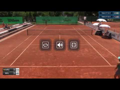 ITF Tennis 26.06.2017 Federica Arcidiacono (Italy) - Kristina Milenkovic (Switzerland) 2:0 (6-4 6-2)