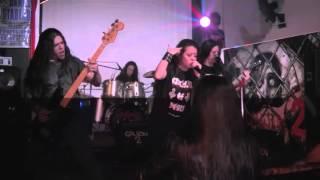 CRUCIFIX OF DEATH - El Galpon 2 de Laferrere 19 sep 2015 (Nueva Formacion)