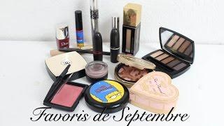 Mes Favoris beauté de Septembre Thumbnail