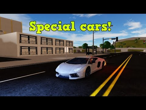 Top 5 Special Vehicles! | ROBLOX: Vehicle Simulator