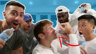 IMPOSSIBLE 1 SECOND WATER BOTTLE CHALLENGE!! (NEW RECORD?)