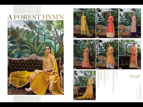 Latest Indian Dresses Collections 2017 || Ganga Fashions Pvt Ltd || Ganga A Forest Hymn