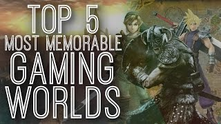 The 5 Most Memorable Worlds In Video Games - The Gist