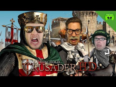 DER EINE HERRSCHER! 🎮 Stronghold Crusader HD