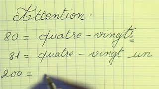 Lire et écrire les grands nombres | 26 nombres à savoir écrire en français