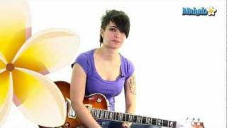 "How to Play ""Black Horse And The Cherry Tree"" by KT Tunstall on Guitar"