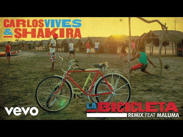 LA BICICLETA FT. MALUMA - Shakira