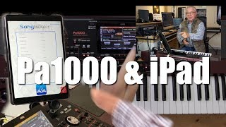 KORG PA1000 - iPad & Keyboard #36