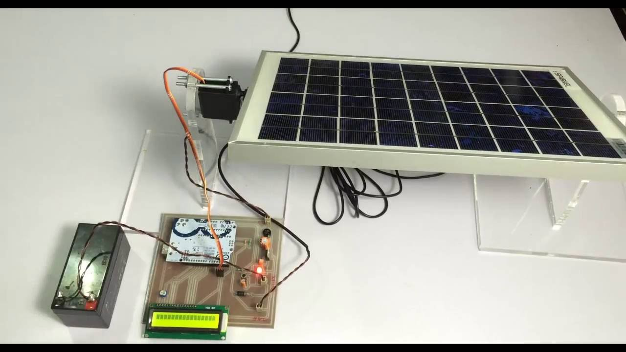 Rotating Solar Panel Using Arduino For Solar Efficiency