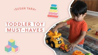 Toddler Toy Must Haves (mostly Amazon Products!) | Susan Yara
