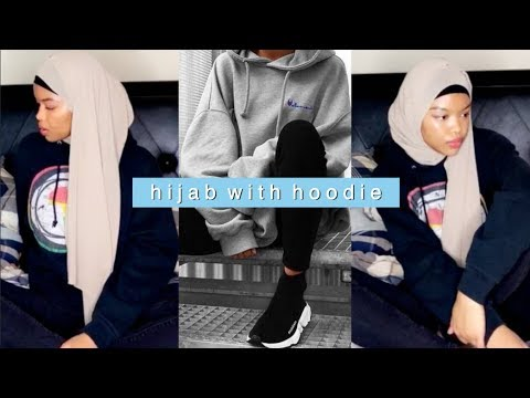 How To Style Hijab With A Hoodie How To Style Hijab Streetwear Athleisure
